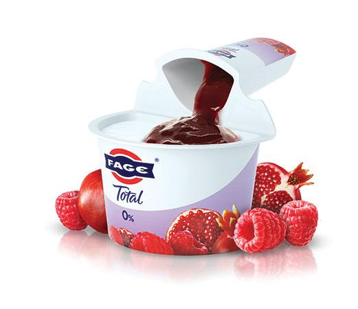 FAGE Total 0% Split Cup Lampone Melograno